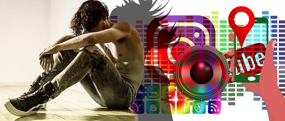 publicité médias sociaux